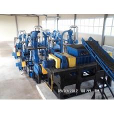 Линия по переработке шин РДК-500